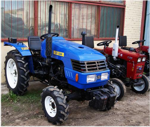 Гусеничные тракторы МТЗ-2103 и МТЗ-1502: технические параметры